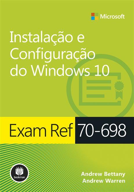 Oferta Exam Ref 70-698 por R$ 90.4