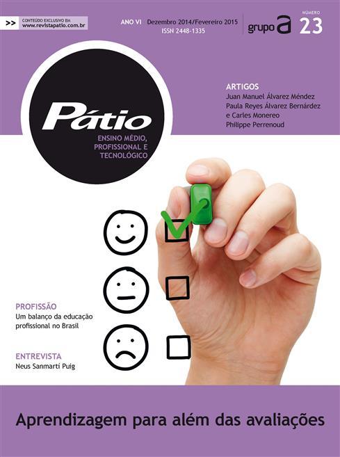 revista pátio ensino médio, profissional e tecnológico - nº23