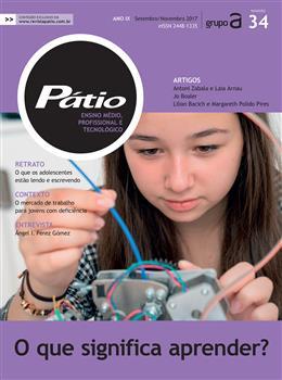 Revista Pátio Ensino Médio, Profissional e Tecnológico - Nº34