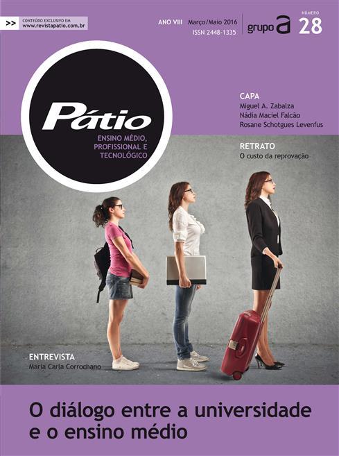revista pátio ensino médio, profissional e tecnológico - nº28