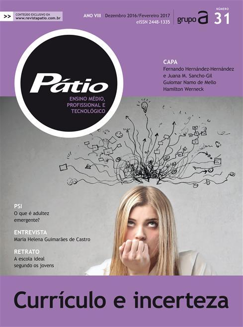 revista pátio ensino médio, profissional e tecnológico - nº31
