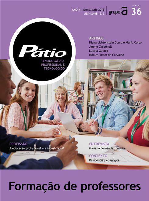 revista pátio ensino médio, profissional e tecnológico - nº 36