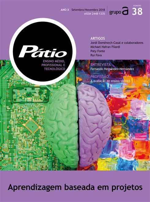 revista pátio ensino médio, profissional e tecnológico nº 38