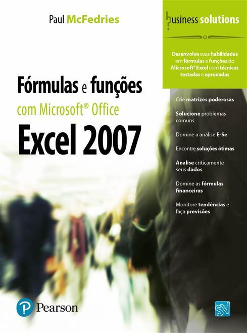 fórmulas e funções com microsoft® office excel 2007