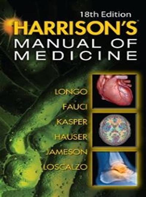 harrisons manual of medicine 18ed.