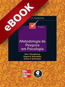 Metodologia de Pesquisa em Psicologia - eBook