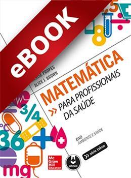 Matemática para Profissionais da Saúde - eBook