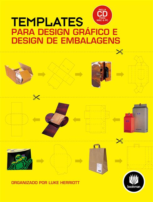 Templates para Design Gráfico e Design de Embalagens