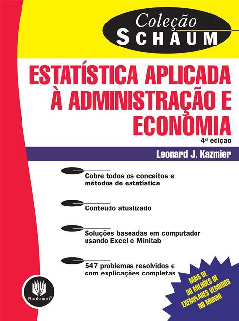 estatística aplicada à administração e economia