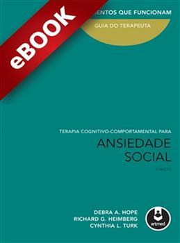 Terapia Cognitivo-Comportamental para Ansiedade Social - eBook