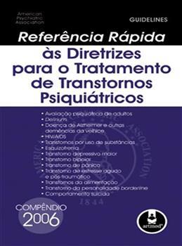 REF. RAPIDA AS DIRETRIZES P/ O TRMT DE TRANSTORNOS
