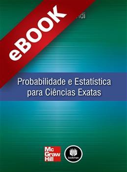 Probabilidade e Estatística para Ciências Exatas - eBook