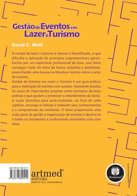 Gestão de Eventos em Lazer e Turismo