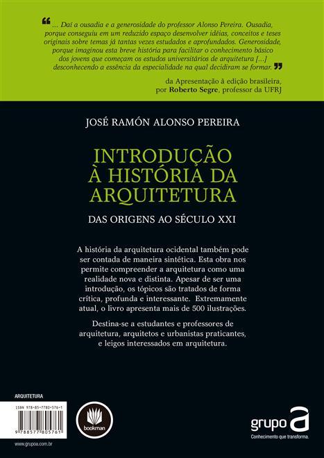 Introdução a Historia da Arquitetura