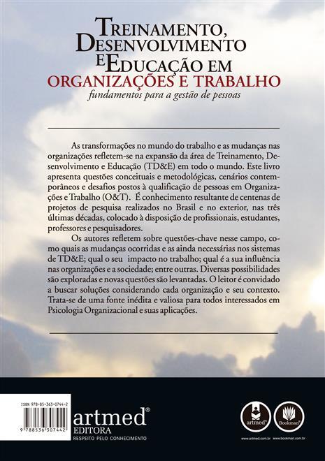 Treinamento, Desenvolvimento e Educação em Organizações e Trabalho