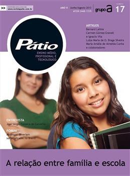 Revista Pátio Ensino Médio, Profissional e Tecnológico - Nº17