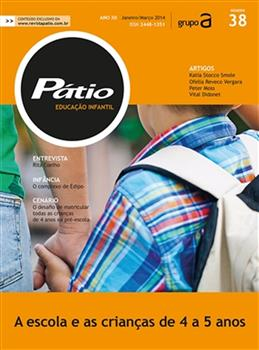 Revista Pátio Educação Infantil - Nº 38