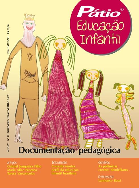 revista pátio educação infantil - nº 12
