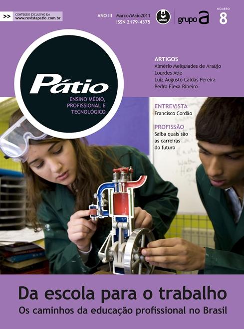 revista pátio ensino médio, profissional e tecnológico - nº 8