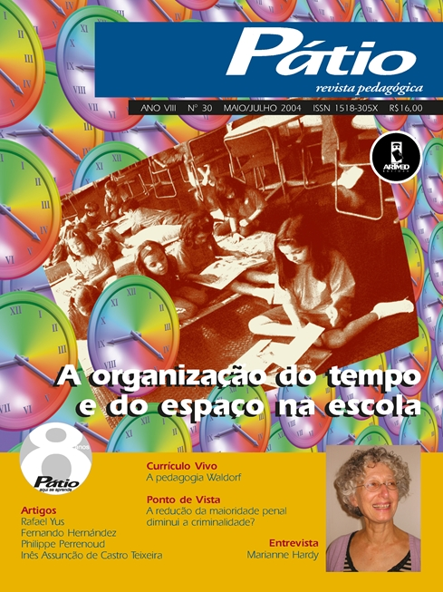 revista pátio pedagógica - n° 30
