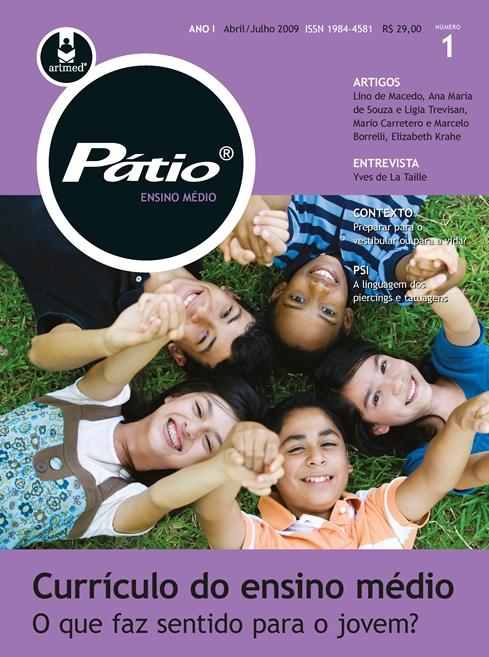 revista pátio ensino médio, profissional e tecnológico - nº 01